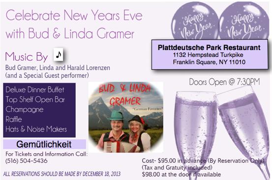 Bud Gramer and Linda NYE